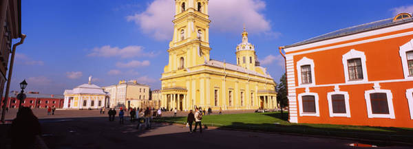 Soviet Union Photograph - Low Angle View Of A Cathedral, Peter by Panoramic Images