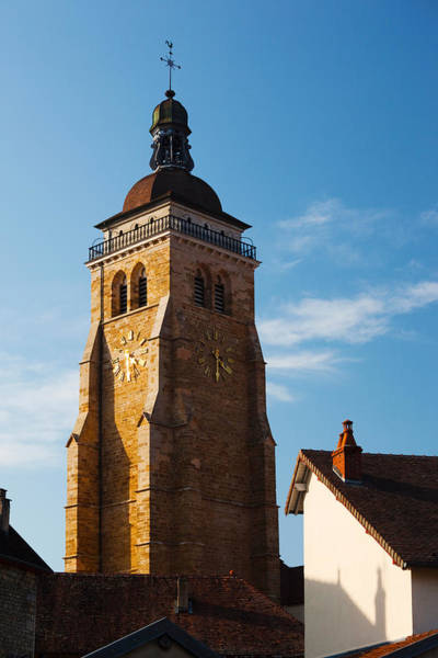 Comte Wall Art - Photograph - Low Angle View Of A Church, Eglise by Panoramic Images
