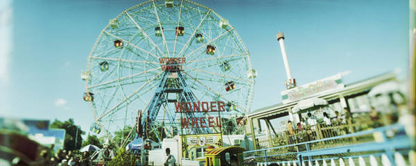 Wall Art - Photograph - Low Angle View Of A Ferris Wheel by Panoramic Images