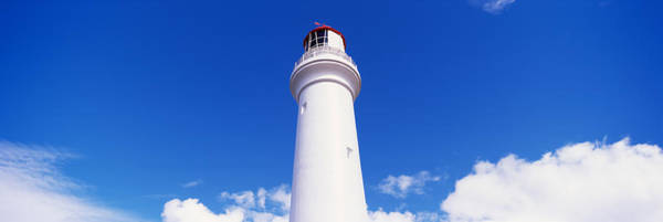Victoria Tower Wall Art - Photograph - Low Angle View Of A Lighthouse, Cape by Panoramic Images