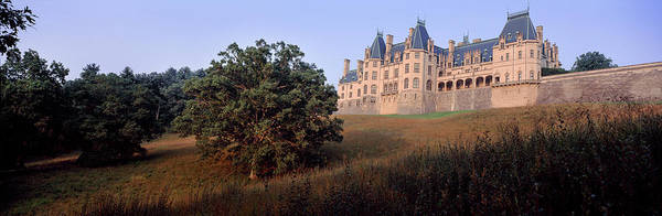 Surroundings Photograph - Low Angle View Of A Mansion, Biltmore by Panoramic Images