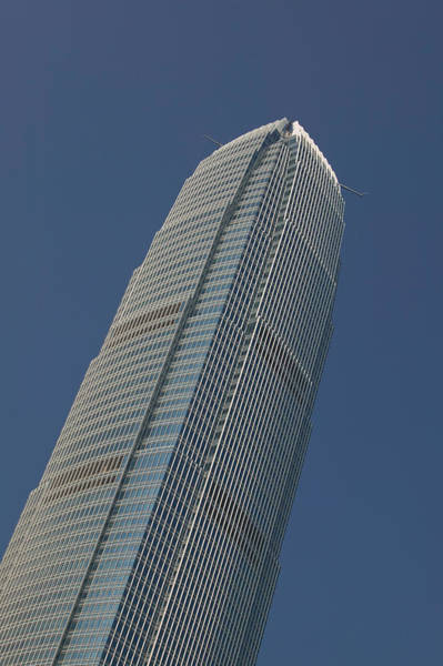 Financial Centre Photograph - Low Angle View Of A Skyscraper, Two by Panoramic Images