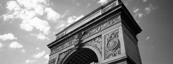 Washington Square Park Wall Art - Photograph - Low Angle View Of An Arch, Washington by Panoramic Images