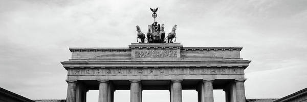 Brandenburg Gate Photograph - Low Angle View Of Brandenburg Gate by Panoramic Images