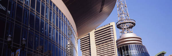 Wall Art - Photograph - Low Angle View Of Bridgestone Arena by Panoramic Images