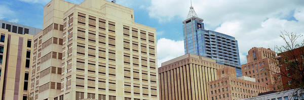 Downtown Raleigh Wall Art - Photograph - Low Angle View Of Buildings, Raleigh by Panoramic Images