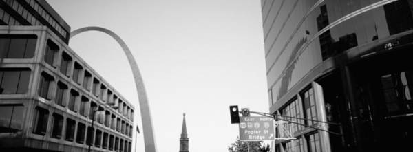 Wall Art - Photograph - Low Angle View Of Buildings, St. Louis by Panoramic Images