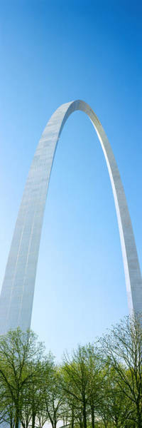 Wall Art - Photograph - Low Angle View Of Gateway Arch, St by Panoramic Images