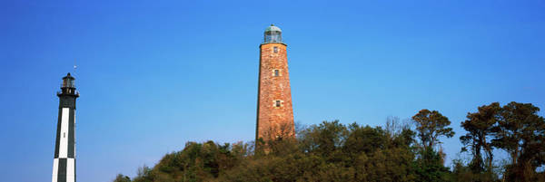 Virginia Lighthouse Photograph - Low Angle View Of Lighthouses, Cape by Panoramic Images
