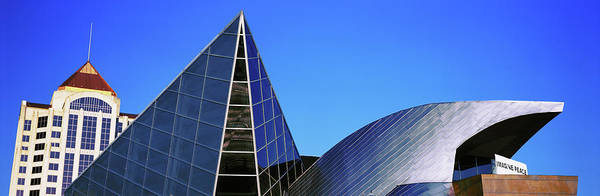Roanoke Wall Art - Photograph - Low Angle View Of Taubman Museum by Panoramic Images