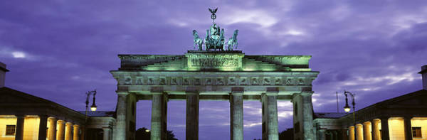 Brandenburg Gate Photograph - Low Angle View Of The Brandenburg Gate by Panoramic Images