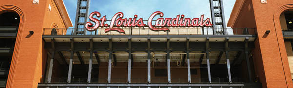 Wall Art - Photograph - Low Angle View Of The Busch Stadium by Panoramic Images