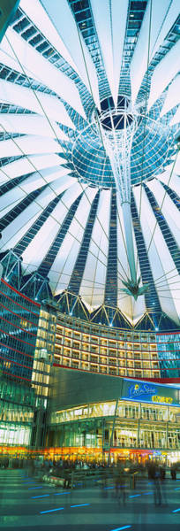 Sony Center Photograph - Low Angle View Of The Ceiling by Panoramic Images