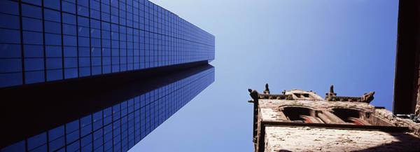 Low Angle View Of The Hancock Building Art Print