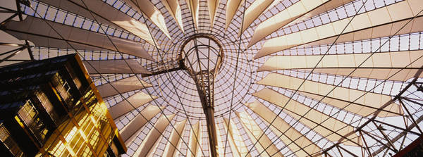 Sony Center Photograph - Low Angle View Of The Roof by Panoramic Images
