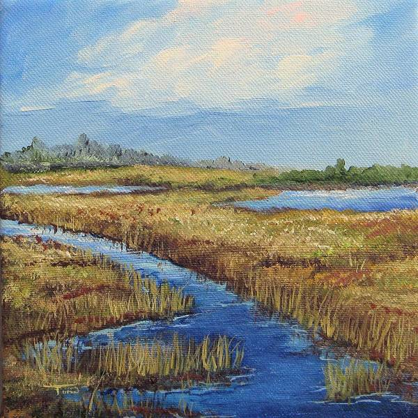 Painting - Low Country View  by Torrie Smiley