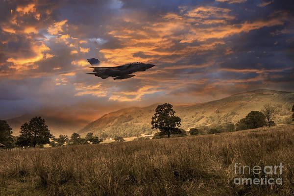 Tornado Digital Art - Low Level Tornado  by J Biggadike