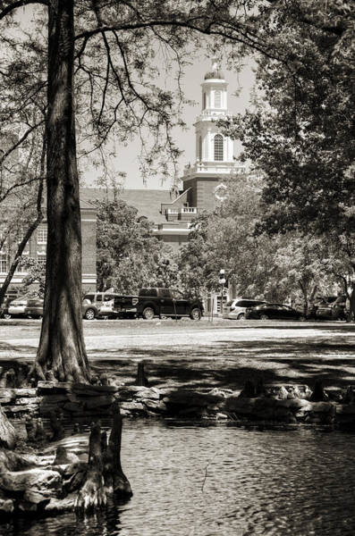 Stillwater Wall Art - Photograph - Low Library by Ricky Barnard