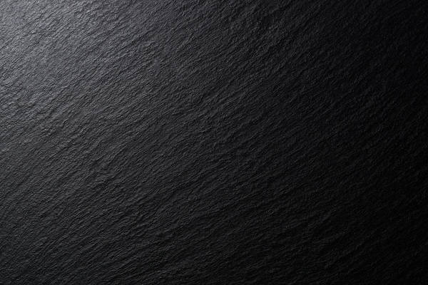 Low Lighting Black Slate Texture Art Print by MirageC
