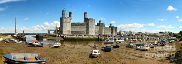 Wall Art - Photograph - Low Tide At Caernarfon by Jane Rix