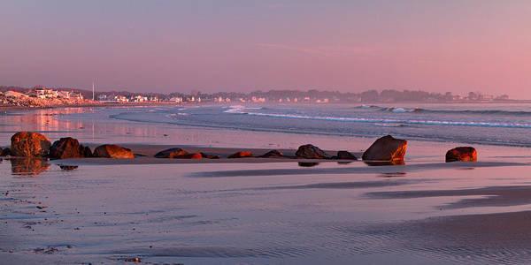 Seacoast Photograph - Low Tide At Dawn by Shell Ette