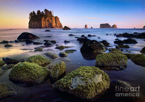 Soothing Photograph - Low Tide At Second Beach by Inge Johnsson