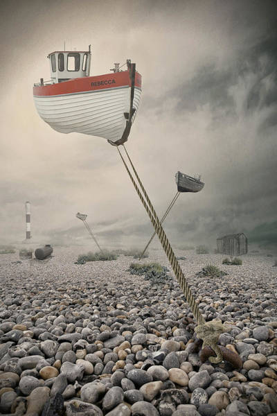 Imaginative Wall Art - Photograph - Low Tide by Baden Bowen