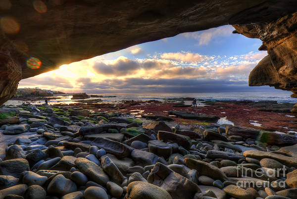 Photograph - Low Tide In La Jolla by Eddie Yerkish