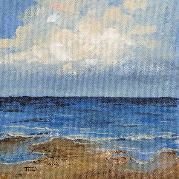 Painting - Low Tide by Torrie Smiley