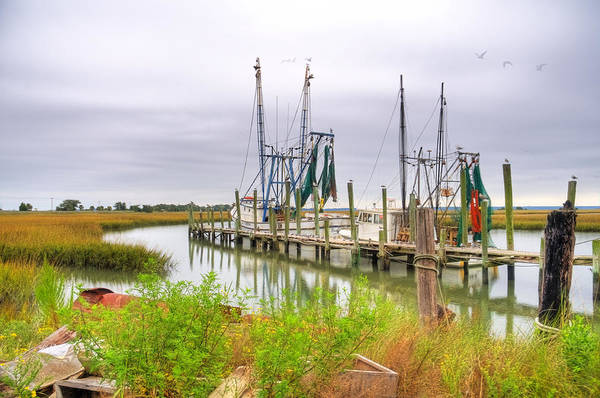 Photograph - Lowcountry Shrimp Dock by Scott Hansen