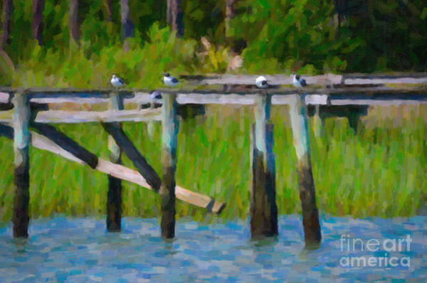 Digital Art - Lowcountry Summer Bliss by Dale Powell