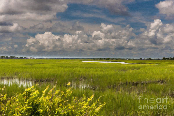 Digital Art - Lowcountry Tides by Dale Powell