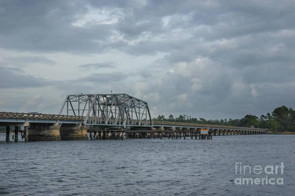 Photograph - Lowcountry Wando River Bridge by Dale Powell