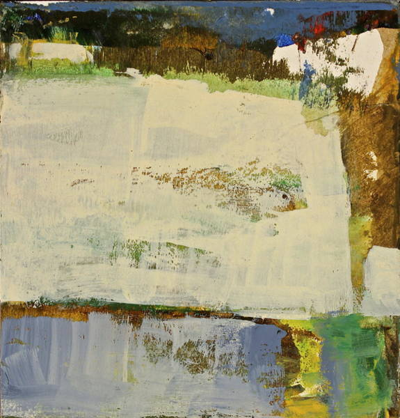 Painting - Lower 40 By The Pond by Cliff Spohn