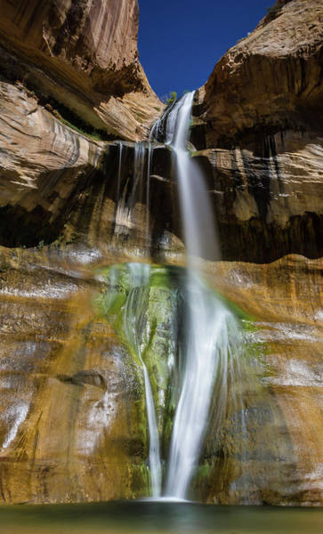 Geology Photograph - Lower Calf Creek Falls by Philipp Arnold