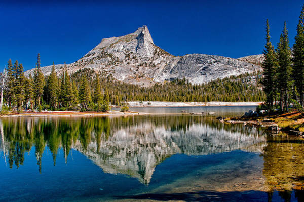 Sierra Nevada Photograph - Lower Cathedral Lake by Cat Connor
