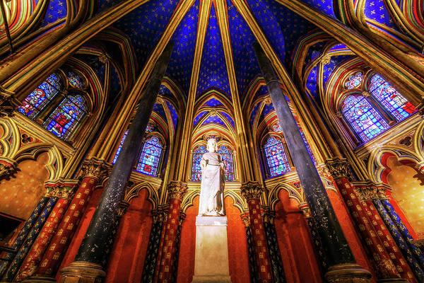 Chapelle Photograph - Lower Chapel, La Sainte-chapelle by Joe Daniel Price