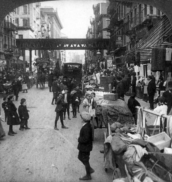 Half Life Photograph - Lower East Side, 1907 by Granger