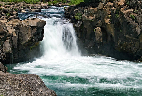 Photograph - Lower Falls Of The Mccloud River by Stuart Gordon