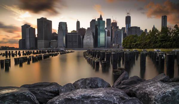 Wall Art - Photograph - Lower Manhattan by Chris Halford