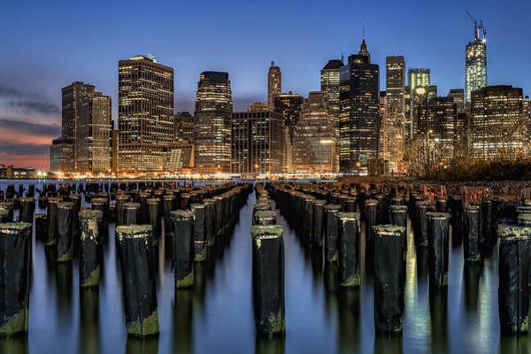 Wall Art - Photograph - Lower Manhattan by Eduard Moldoveanu
