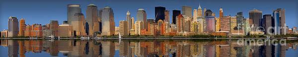 Photograph - Lower Manhattan Skyline by Susan Candelario
