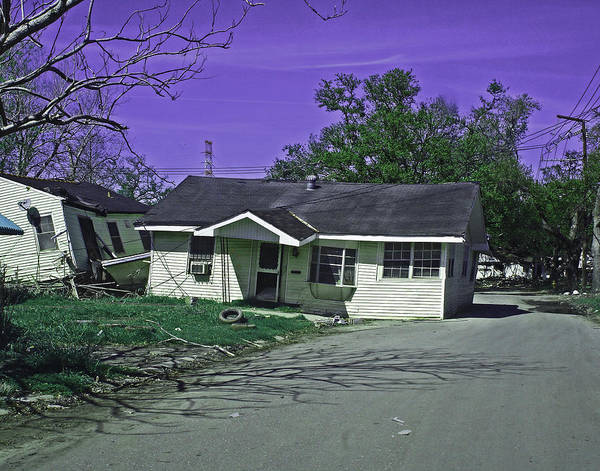 Lower Ninth Ward Photograph - Lower Ninth Ward 2005 New Orleans by Louis Maistros