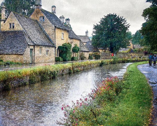 Photograph - Lower Slaughter by William Beuther