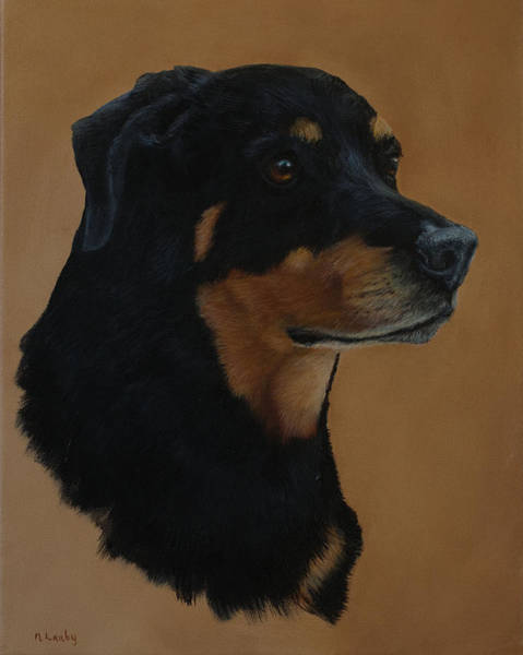 Painting - Loyal  by Nancy Lauby