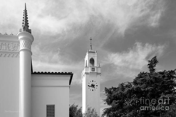 Photograph - Loyola Marymount University Clock Tower by University Icons