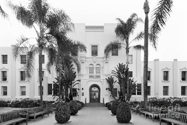 Loyola Marymount University Xavier Hall Art Print
