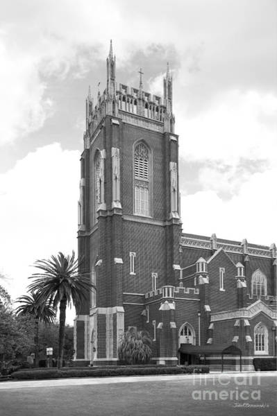 Photograph - Loyola University New Orleans Holy Name Of Jesus Church by University Icons