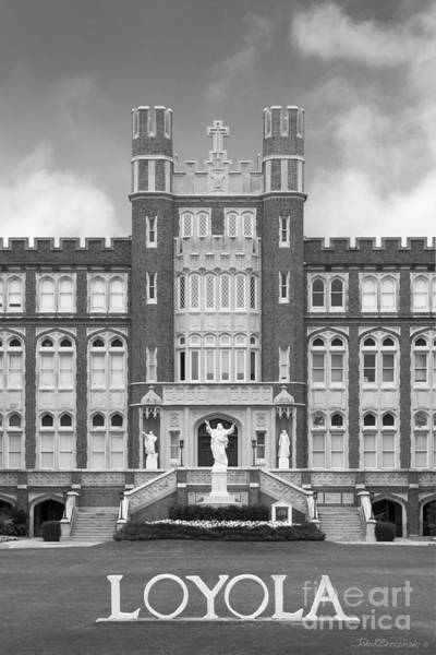 Photograph - Loyola University New Orleans Marquette Hall by University Icons