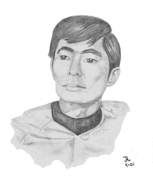 Lt. Sulu Art Print